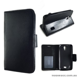 Wise Wallet Case for Huawei Ascend Y635 - Black