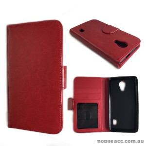 Wise Wallet Case for Huawei Ascend Y635 - Red