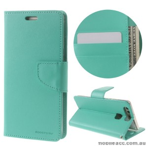 Mercury Goospery Bravo Diary Wallet Case For Huawei P9 Plus - Mint