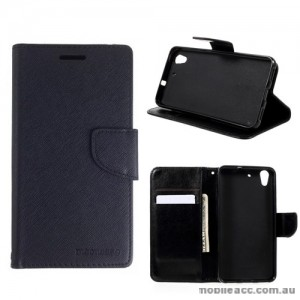 Mooncase Stand Wallet Case For Huawei Y6 II/ Honor 5A Black