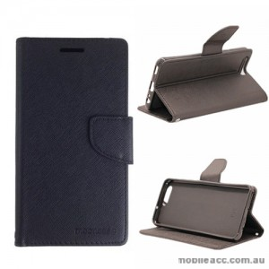 Mooncase Stand Wallet Case For Huawei P10 Black