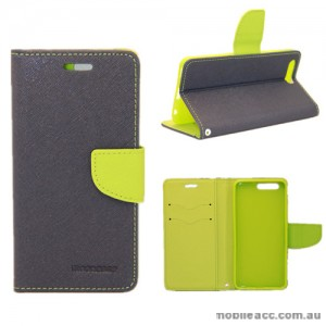 Mooncase Stand Wallet Case For Huawei P10 Navy