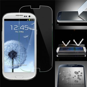 Tempered Glass Screen Protector for Samsung Galaxy S3