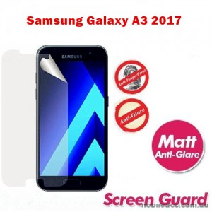 Matte Anti-Glare Screen Protector For Samsung Galaxy A3 2017 A320