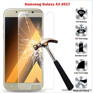 9H Premium Tempered Glass Screen Protector For Samsung Galaxy A3 2017 A320