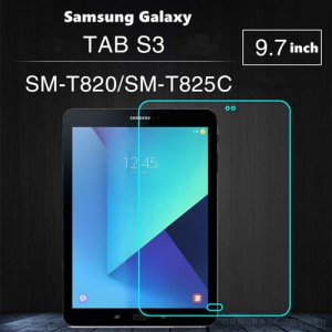 9H Premium Tempered Glass Screen Protector For Samsung Galaxy Tab S3 9.7