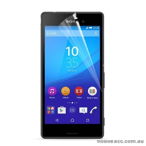 Clear Screen Protector for Sony Xperia M4