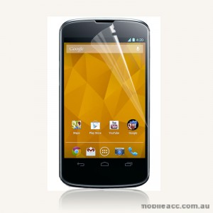 Screen Protector for LG Google Nexus 4 E960 - Clear