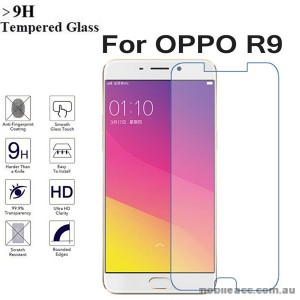 Premium Tempered Glass Screen Protector For Oppo R9