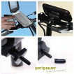 PeriPower Waterproof bag Case with bicycle Mount for iPhone 4 4S× 2