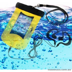 100% Waterproof Armband Bag Case + Earphone For Smartphones