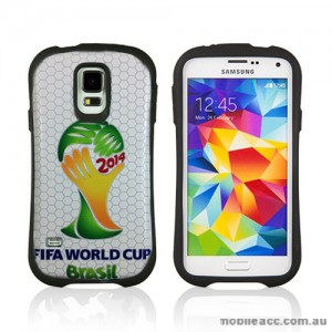 2014 FIFA World Cup Brasil iFace Case Cover for Samsung Galaxy S5 - Logo