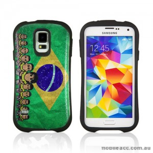 2014 FIFA World Cup Brasil iFace Case Cover for Samsung Galaxy S5 - Team