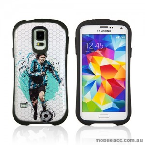 2014 FIFA World Cup Brasil iFace Case Cover for Samsung Galaxy S5 - Messi Argentina