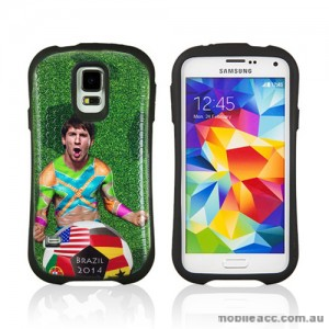 2014 FIFA World Cup Brasil iFace Case Cover for Samsung Galaxy S5 - Messi