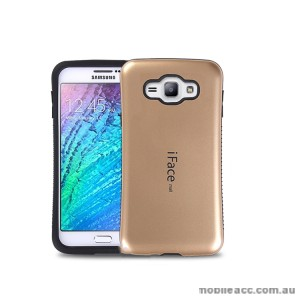 iFace Anti-Shock Case For Samsung Galaxy J1 2016 - Gold