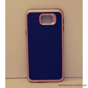 Rugged Shockproof Tough Back Case For Samsung Galaxy J5 Prime - Rose Gold