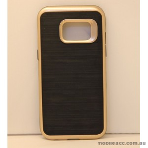 Rugged Shockproof Tough Back Case For Samsung Galaxy A3 2017 - Gold