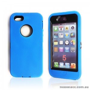 Heavy Duty Tradesman Case for Apple iPhone 5/5S/SE - Blue