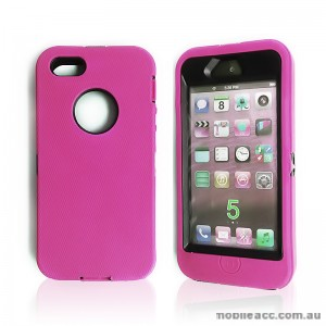 Heavy Duty Tradesman Case for iPhone 5/5S/SE - Hot Pink