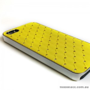 Star Diamond Back Case for Apple iPhone 5/5S/SE - Yellow