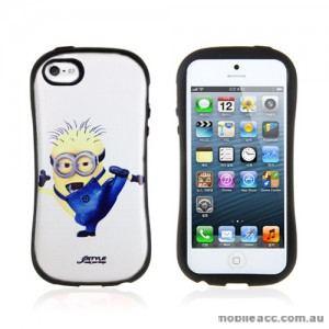 Despicable Me Cutie iFace Case Cover for iPhone 5/5S/SE - Taekwondo