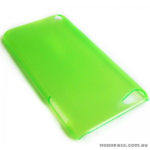 Translucent Back Case for Apple iPod Touch 5 - Green