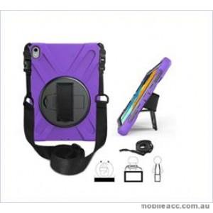 3 in1 Defender heavy Duty Case For  Ipad Pro 11'' (2018) Purple