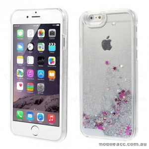 Romantic Quicksand Bling Glitter Back Case for iPhone 6/6S Plus