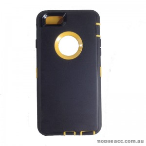 Rugged Defender Heavy Duty Case for iPhone 6 Plus/6S Plus Yellow