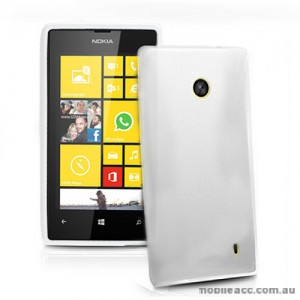 TPU Gel Case Cover for Nokia Lumia 520 - Clear