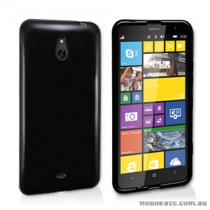 TPU Gel Case Cover for Nokia Lumia 1320 - Black