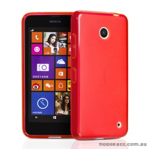 Nokia Lumia 630 635 TPU Gel Case Cover - Rose