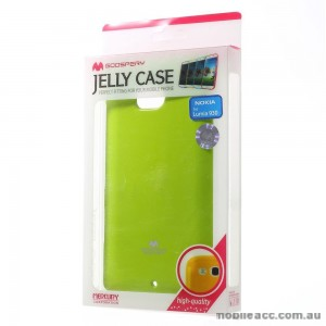 Korean Mercury TPU Gel Case Cover for Nokia Lumia 930 - Green