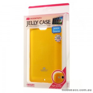 Korean Mercury TPU Gel Case Cover for Nokia Lumia 930 - Yellow