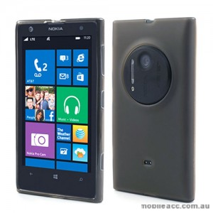 TPU Gel Case Cover for Nokia Lumia 1020 - Black
