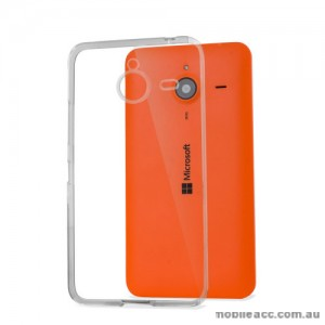 Microsoft Lumia 640 XL TPU Gel Case Cover - Clear