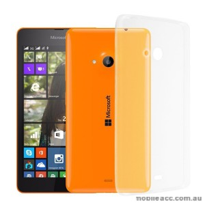 TPU Gel Case Cover for Microsoft Lumia 540 Clear