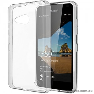 Soft TPU Back Case for Microsoft Lumia 550 - Clear