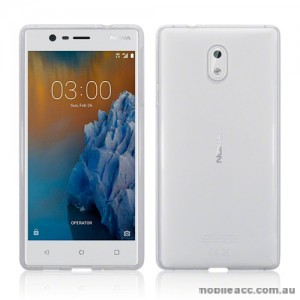 TPU Gel Case Cover For Nokia 3 - Ultra Clear