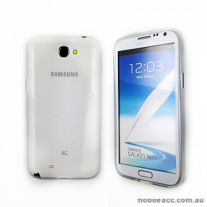 TPU Gel Case for Samsung Galaxy Note2 - Clear