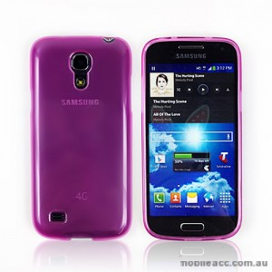 TPU Gel Case for Samsung Galaxy S4 mini - Hot Pink