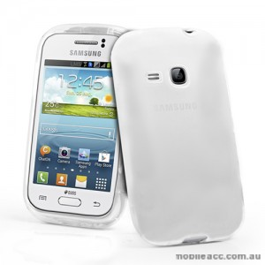 TPU Gel Case for Samsung Galaxy Young S6310 - Clear