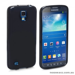 TPU Gel Case for Samsung Galaxy S4 Active - Black