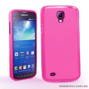 TPU Gel Case for Samsung Galaxy S4 Active - Hot Pink