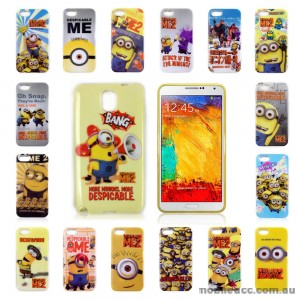 Despicable Me Cutie TPU Gel Case for Samsung Galaxy Note3