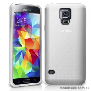 TPU Gel Case Cover for Samsung Galaxy S5 Mini - Clear
