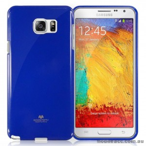 Korean Mercury TPU Soft Back Case for Samsung Galaxy Core Prime Navy