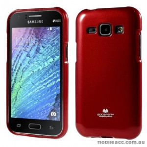 Korean Mercury TPU Case Cover for Samsung Galaxy J1 Red