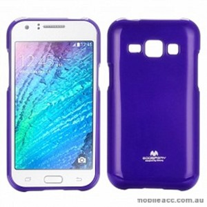 Korean Mercury TPU Case Cover for Samsung Galaxy J1 Purple